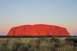 Outback Australia Uluru Sunset Print